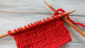 Knitting at the Library