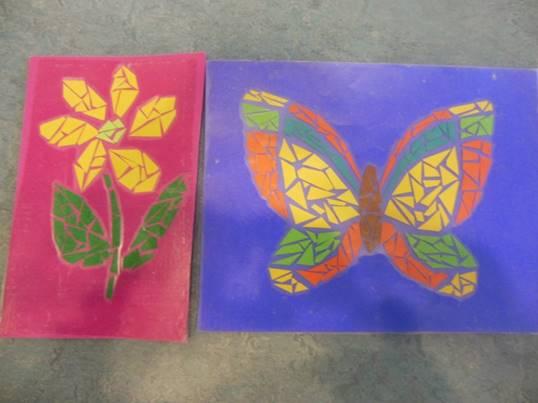 Paper Mosaic Drop In