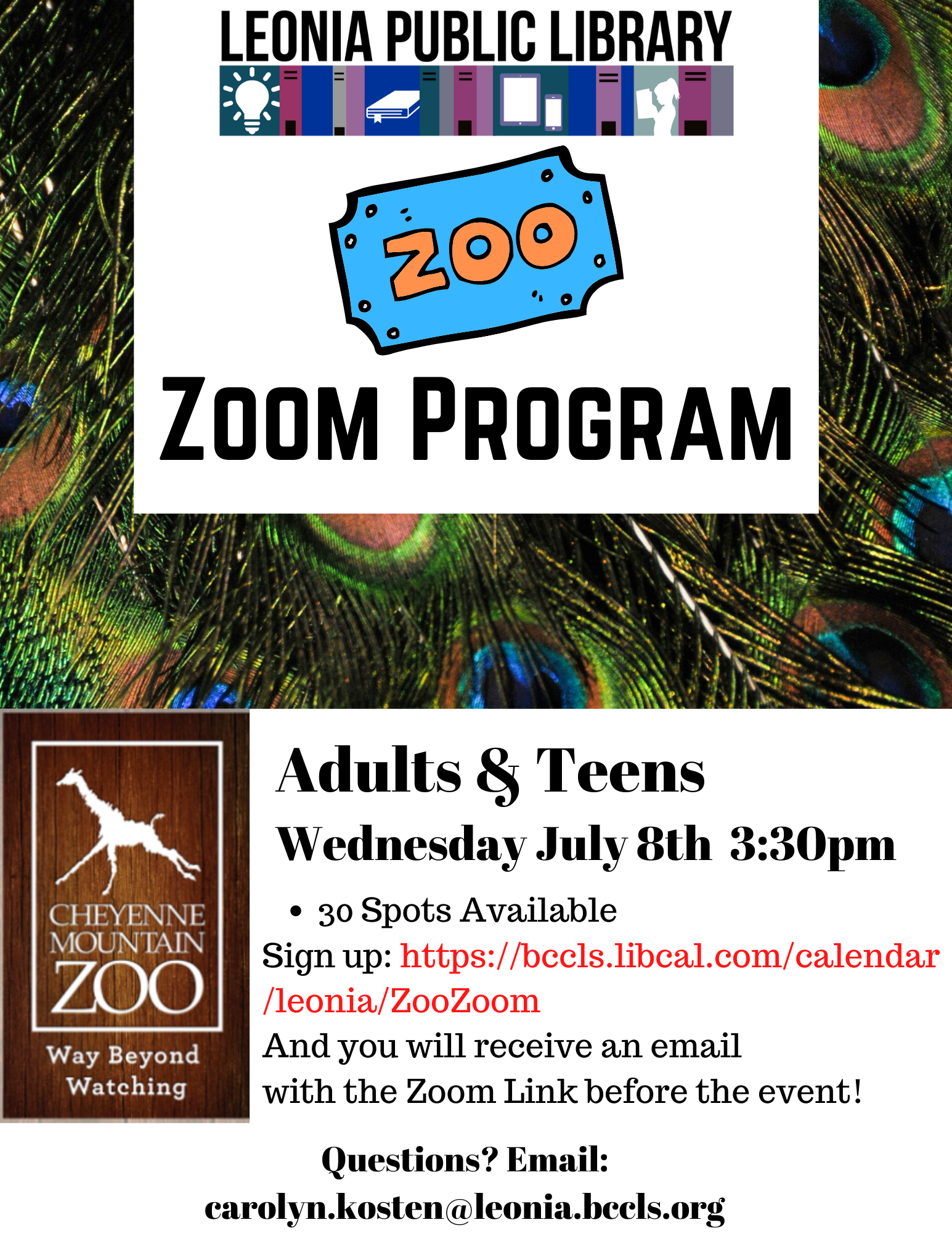 Zoo Zoom Program