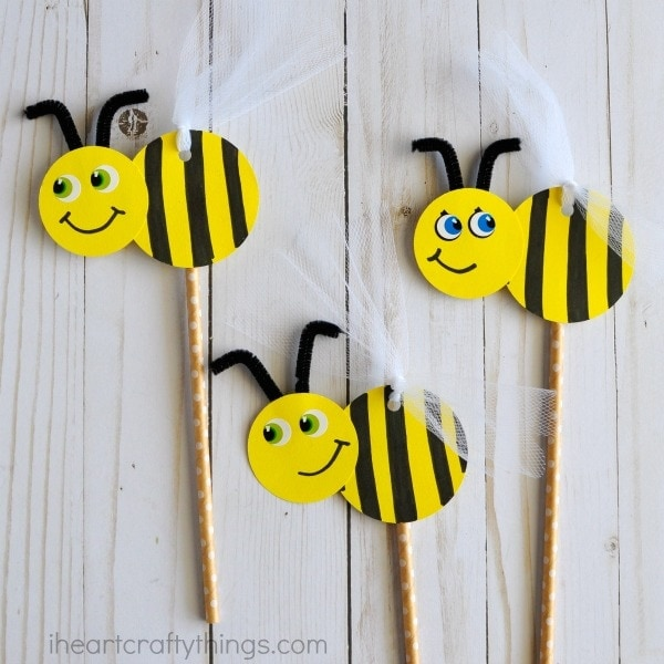BEE Friend the Dalkey Library Craft Kit Pick Up begins, kids ages 5+ through adults