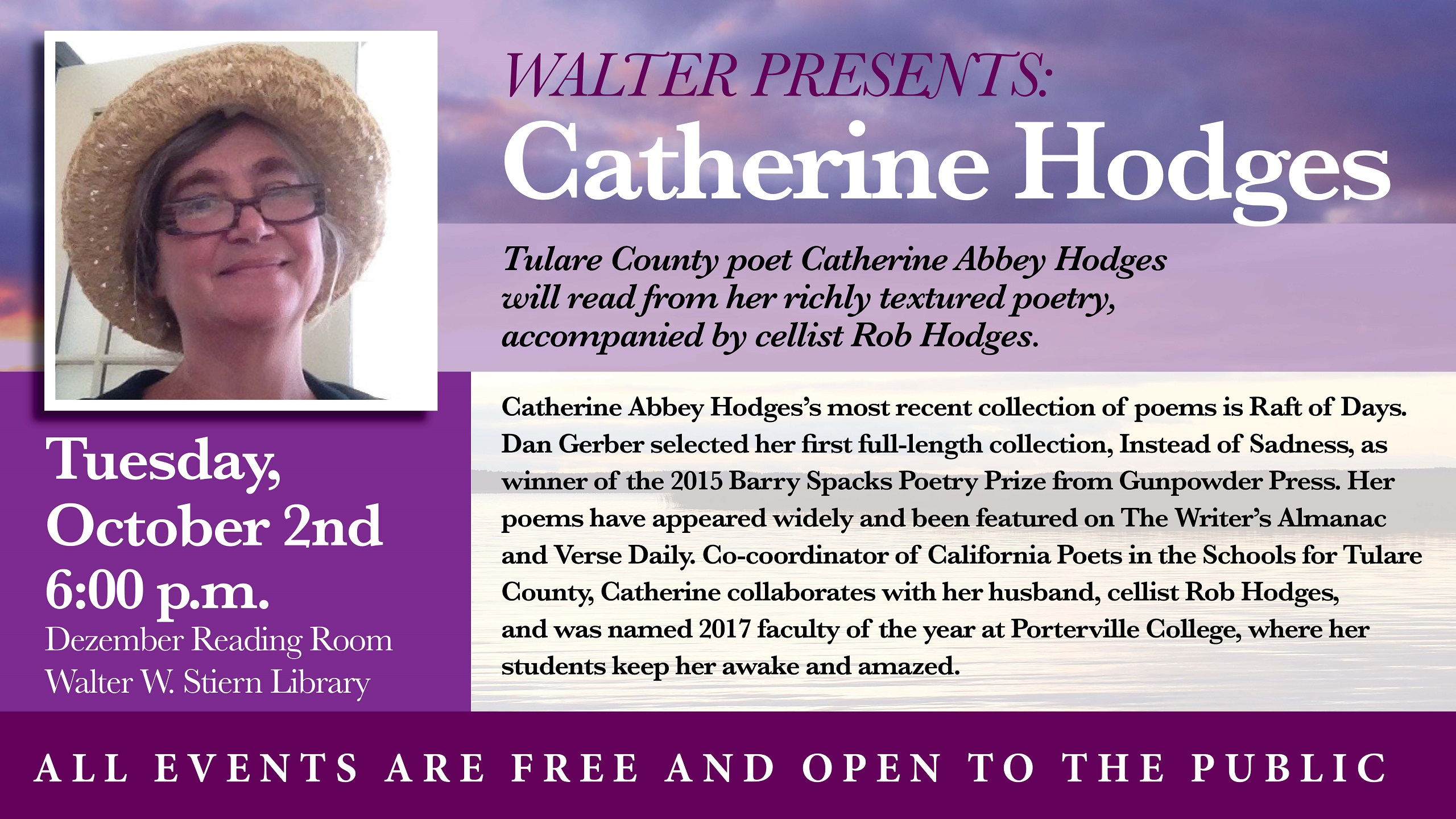 Walter Presents: Catherine Abbey Hodges