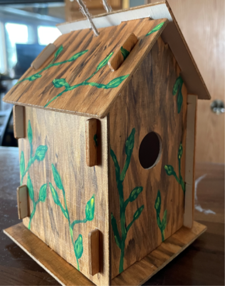 Pickup project for ages 7-18: Decorative Birdhouse