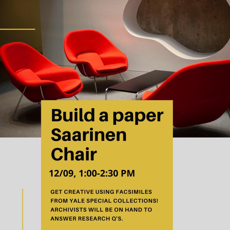 Make a paper Saarinen Chair!