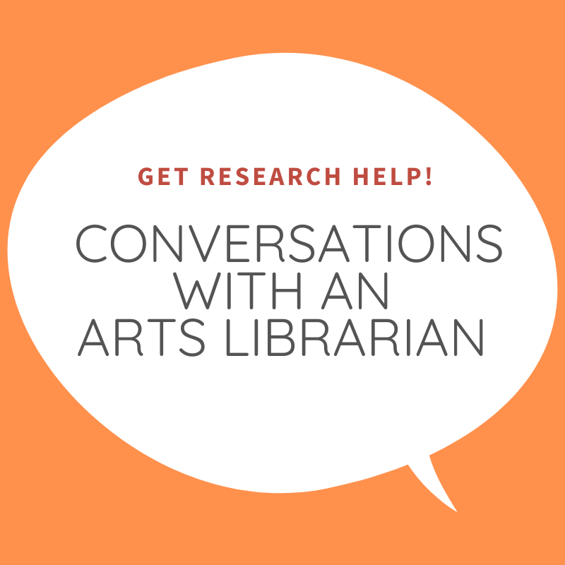 Conversations with an Art Librarian: Using the Library Remotely