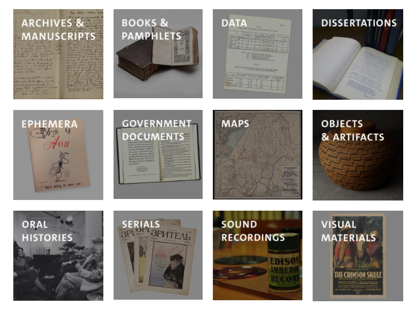 Getting started with Primary Source Research at Yale (Online workshop)