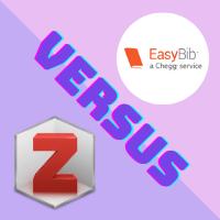 EasyBib versus Zotero: Level Up Your References