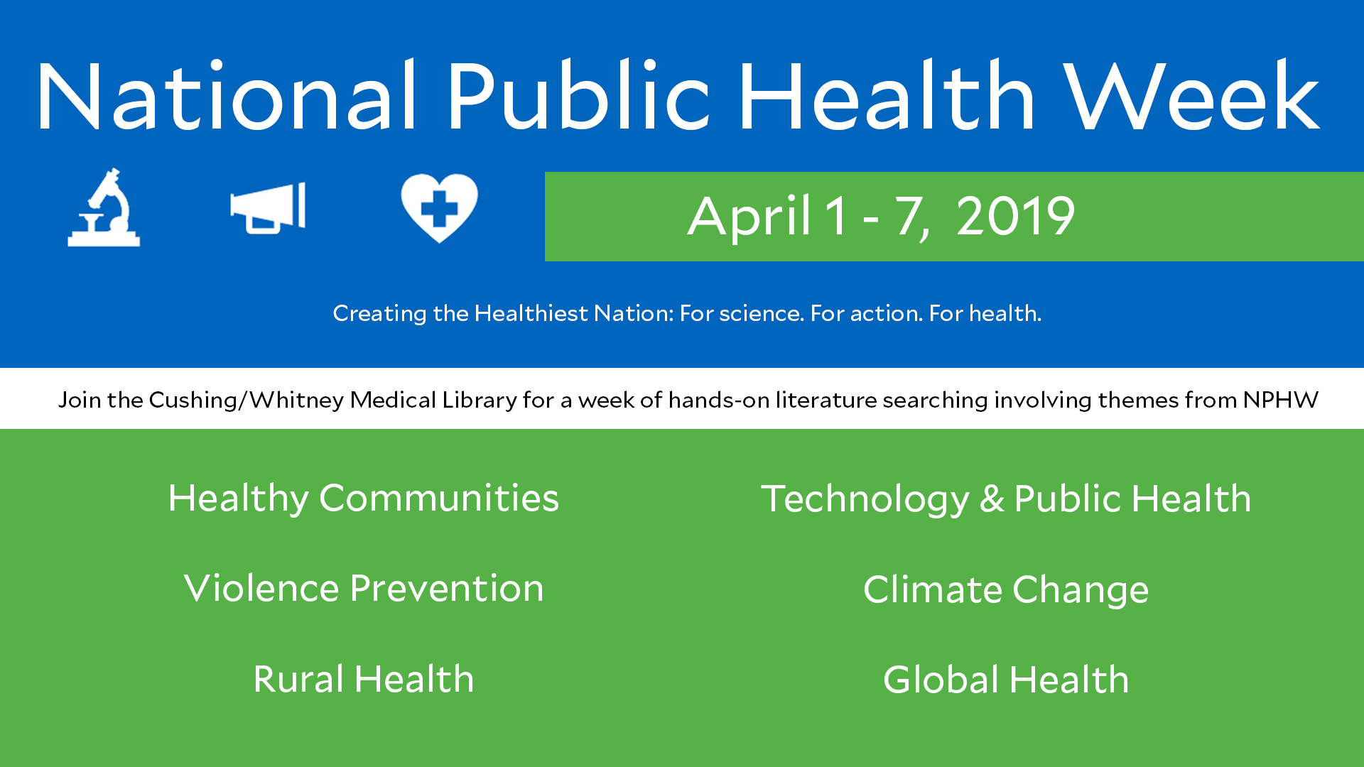 Hands-on NPHW workshop: technology and public health
