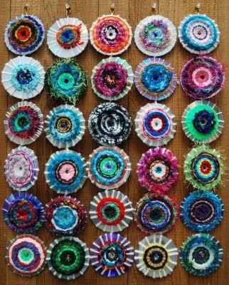 CD Yarn Weaving