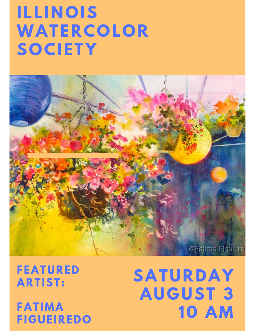 Illinois Watercolor Society Meeting & Demonstration