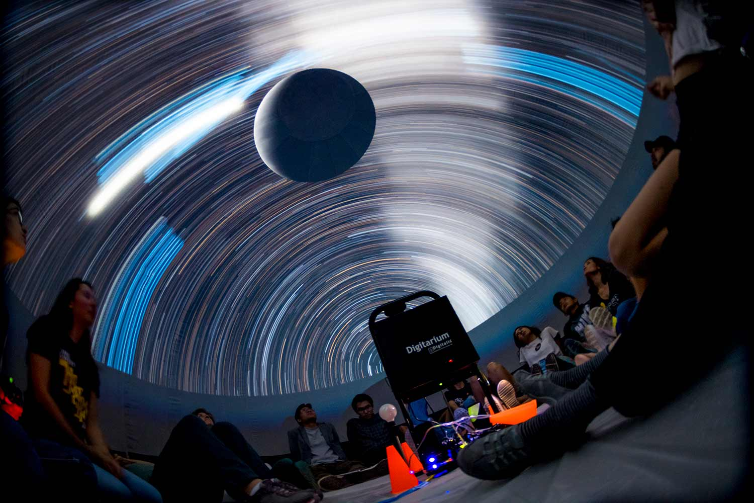 Indoor Stargazing: Planetarium Night at the Library
