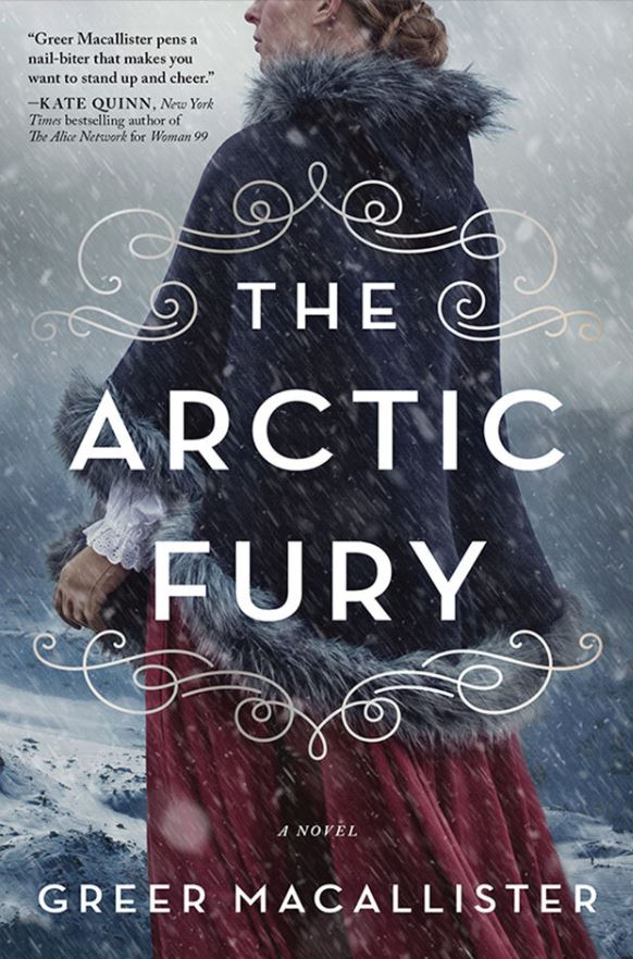Book Adventurists Book Club: The Arctic Fury By Greer Macallister