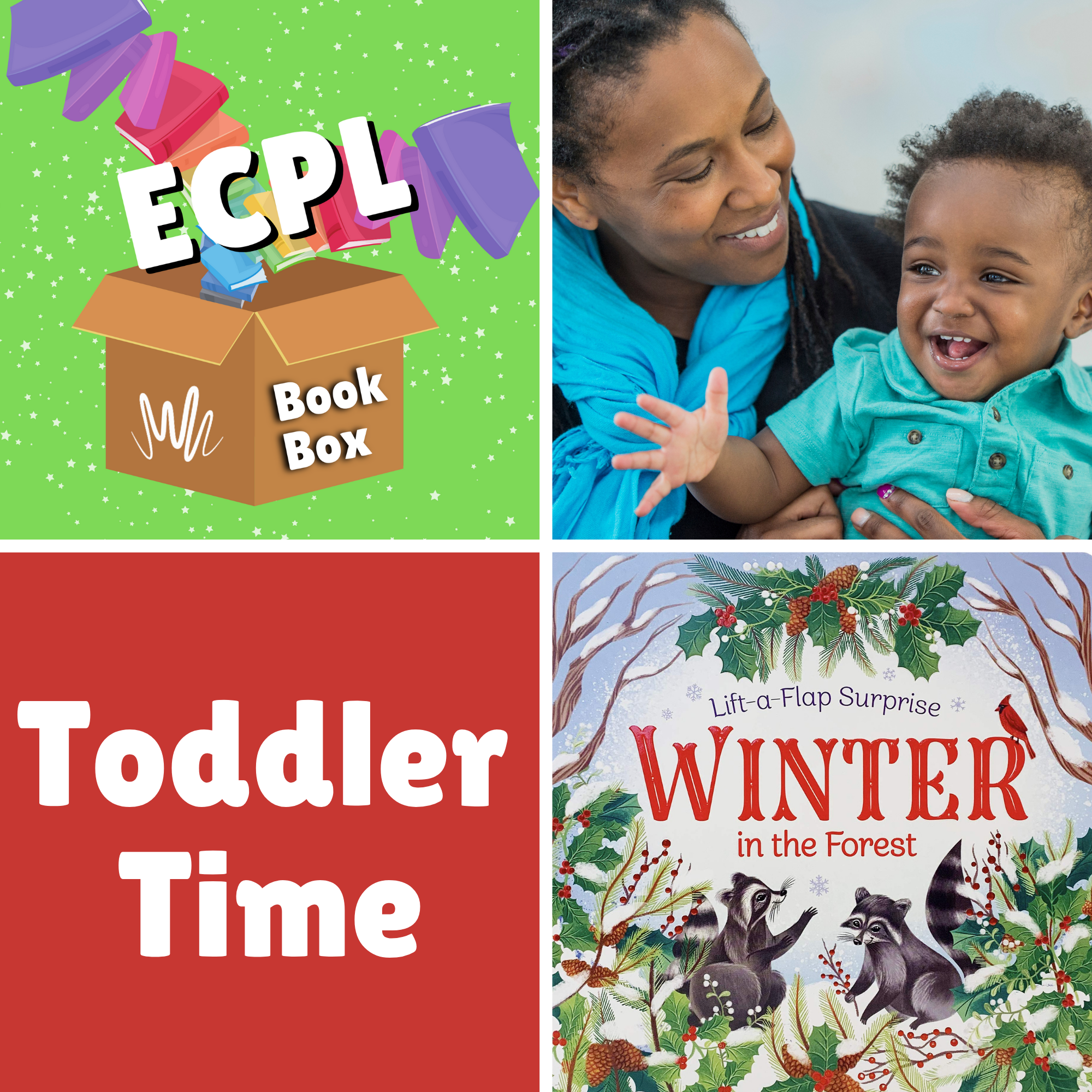 Toddler Time Book Box - Winter in the Forest