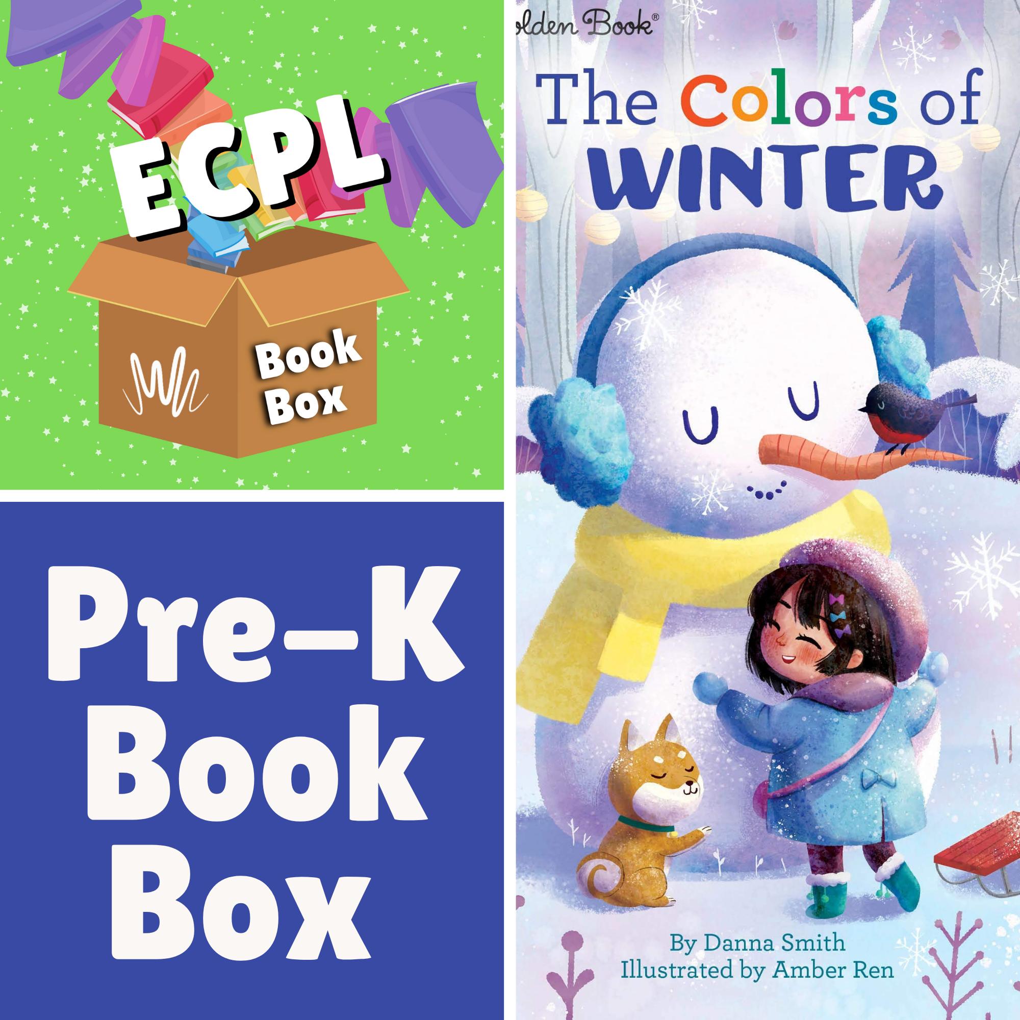 Preschool Book Box - The Colors of Winter