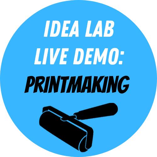 Live Demo: Printmaking - Monotype