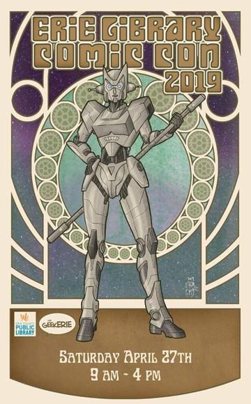 Erie Library Comic Con 2019