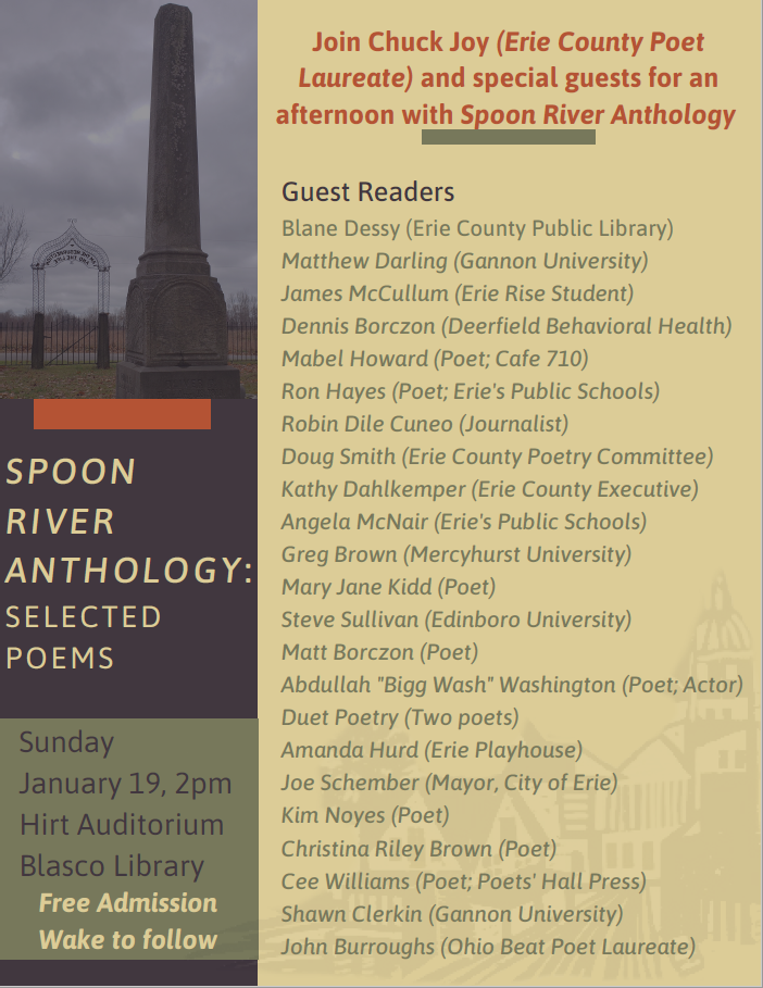 Spoon River Anthology: Selected Readings
