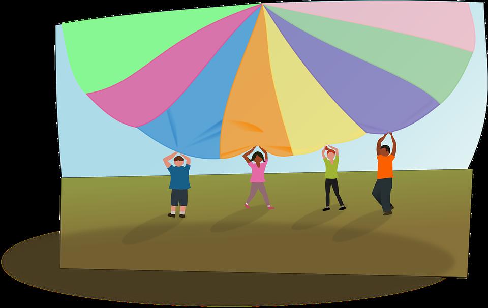 Parachute Playtime