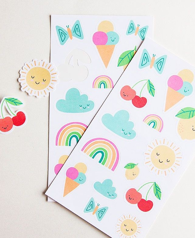 Maker Program: Create a Sticker Sheet with Cricut Maker