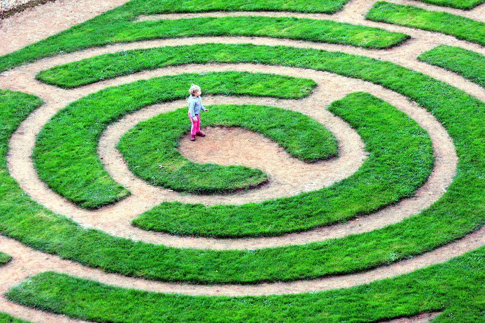 Curious About: Labyrinths & Mazes