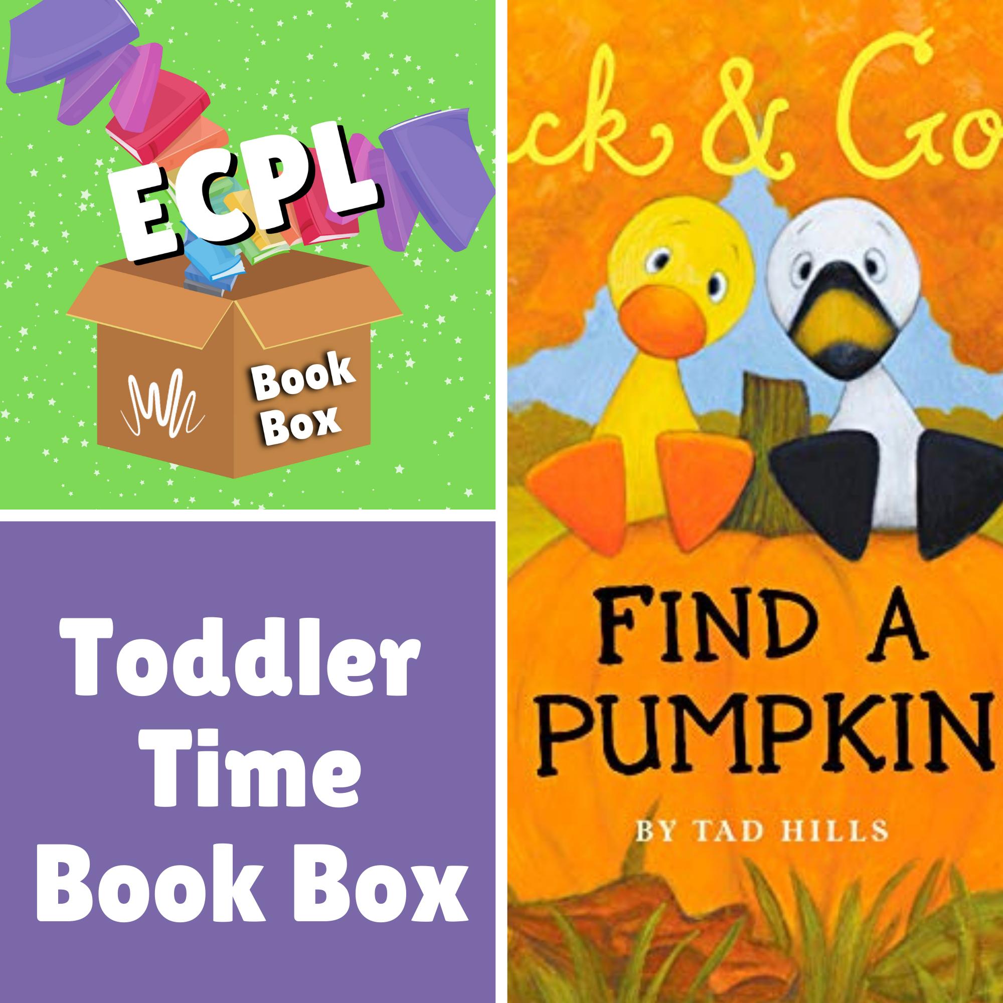 Toddler Time Book Box - Duck & Goose Find a Pumpkin