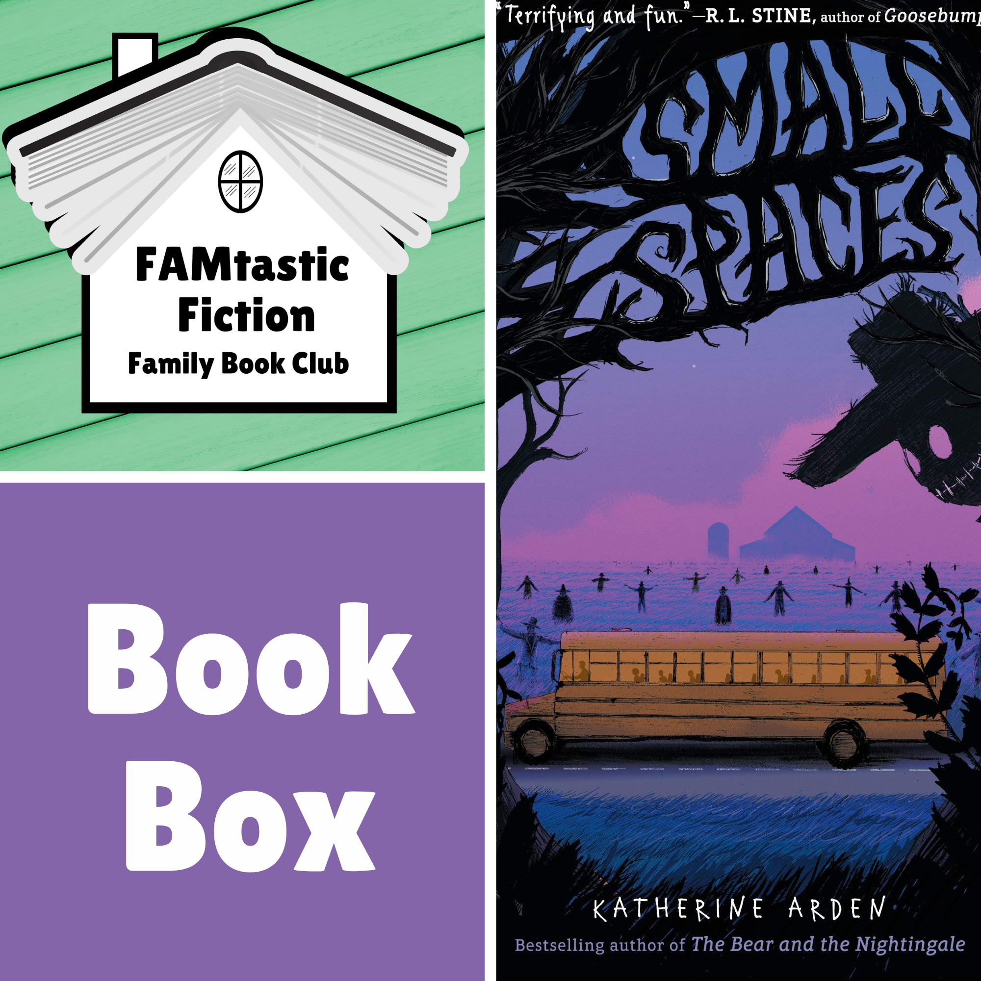 FAMtastic Fiction Book Box - Small Spaces