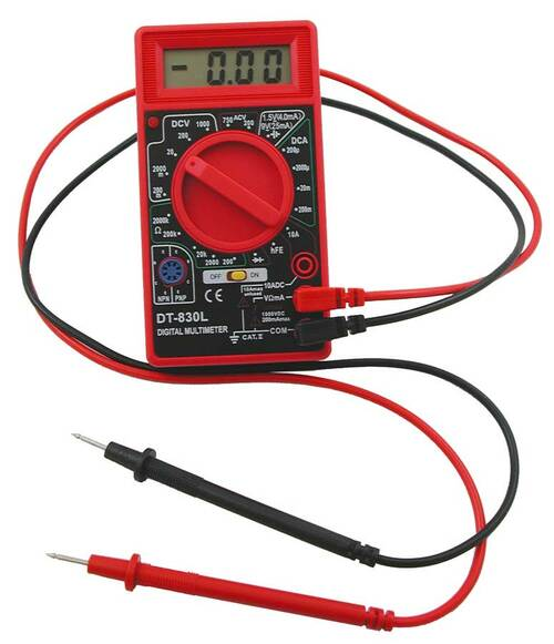 How to use a Multimeter/VOM