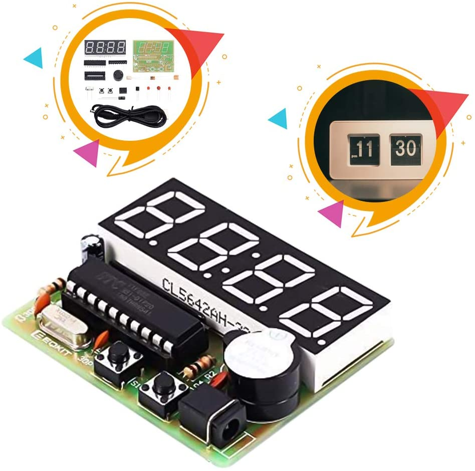Build a Digital Clock Electronics Kit