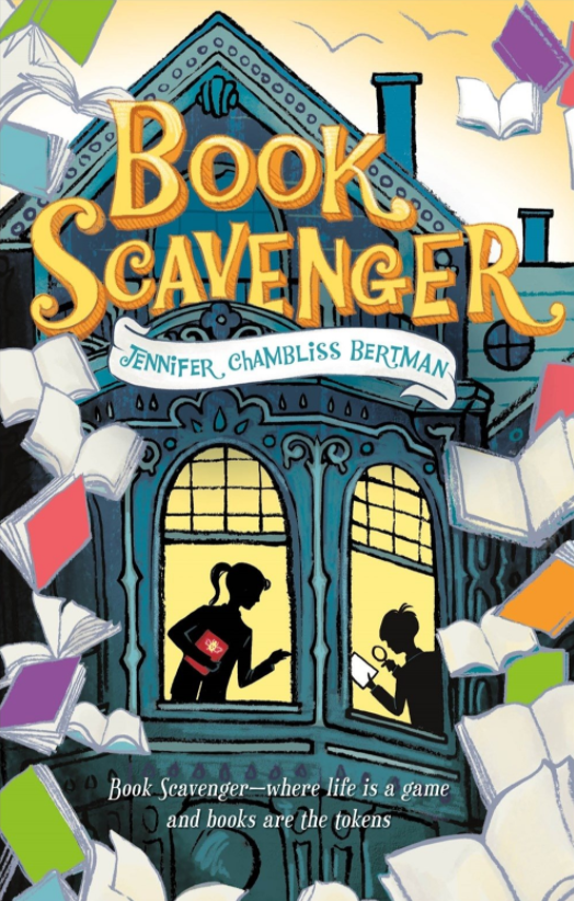 Fall Book Scavenger