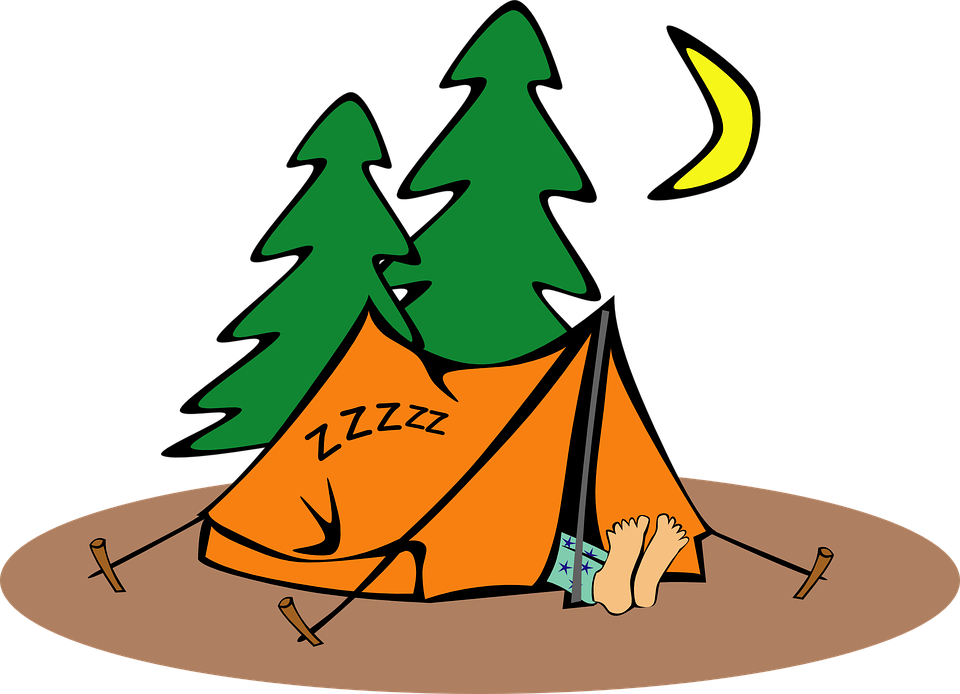 Story Time Shenanigans: Camping at the Library