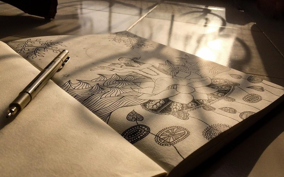 Teen Zone Zen Drawing