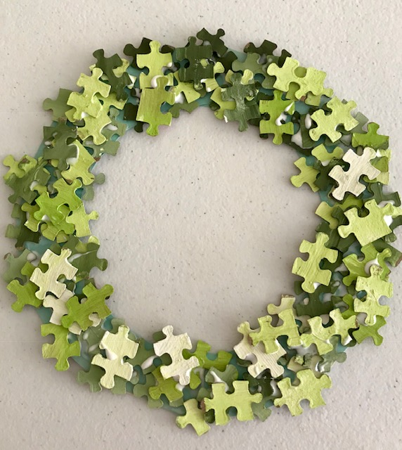 Adult Crafternoon: Puzzle Wreath