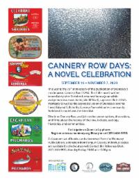 Kick-off to Cannery Row Days: A Novel Celebration