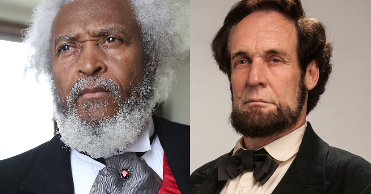 Frederick Douglass and Abraham Lincoln, Living Historians