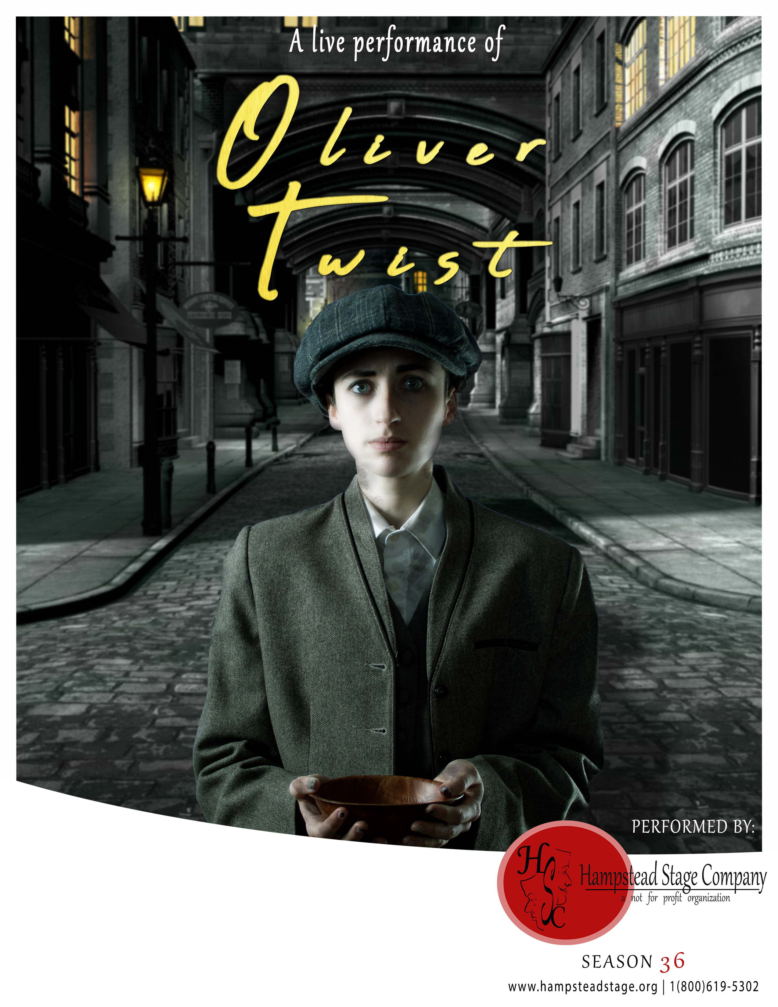 Oliver Twist by the Hampstead Stage Company