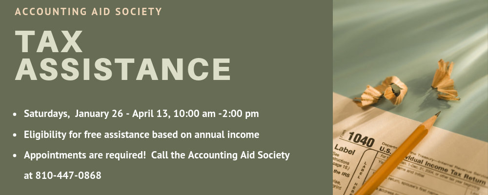 Tax Assistance with the Accounting Aid Society
