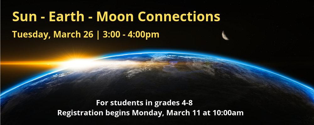 Sun-Earth-Moon Connections