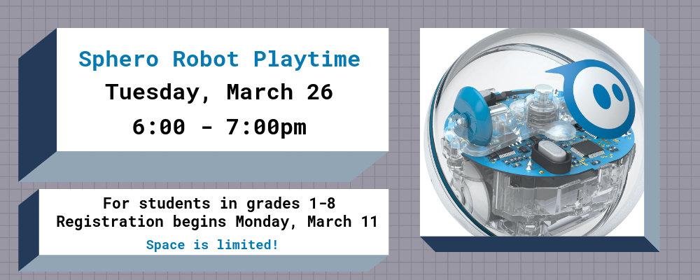 Sphero Robot Playtime