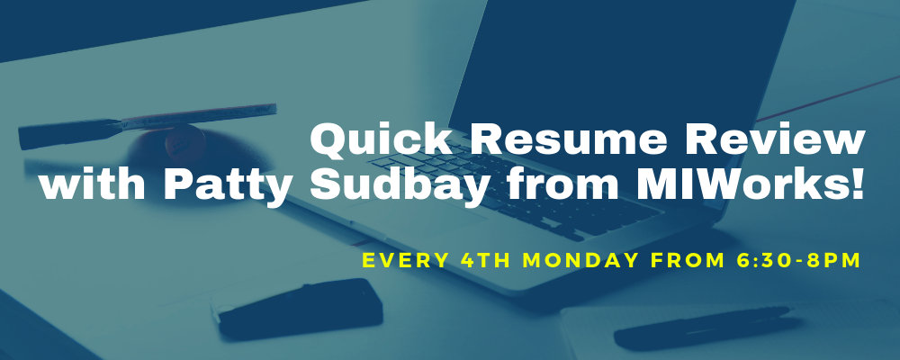 Quick Resume Review with Patty Sudbay