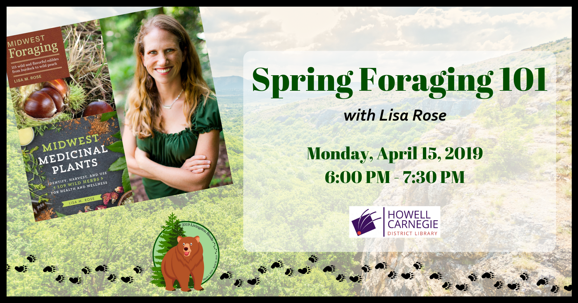 Spring Foraging 101 with Lisa Rose