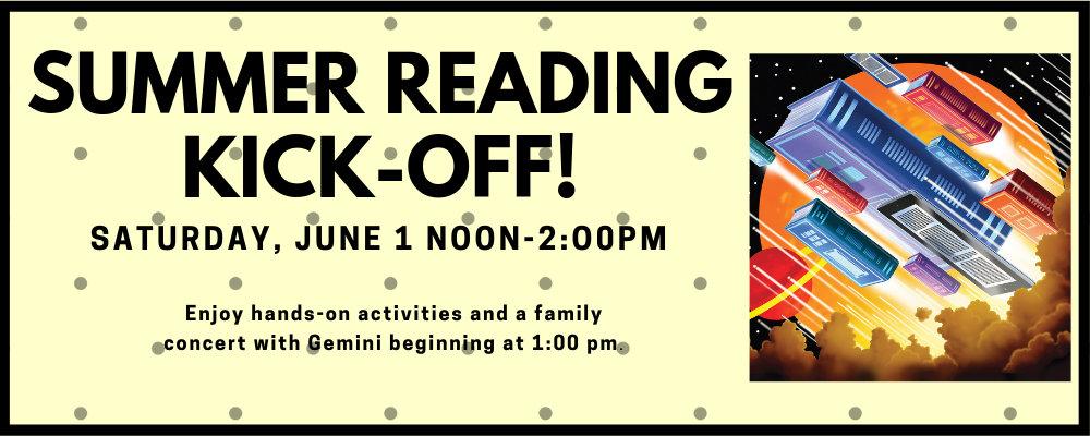 Summer Reading Challenge Kick-off!