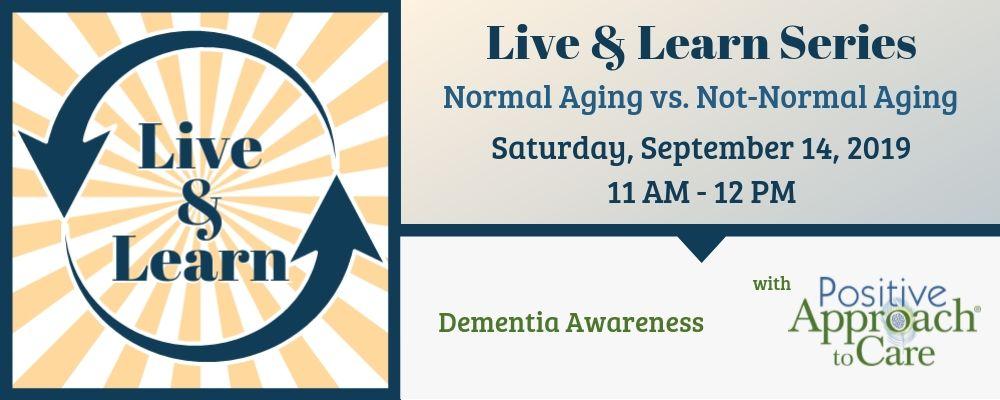Dementia Awareness: Normal Aging vs. Not-Normal Aging with Amanda Bulgarelli