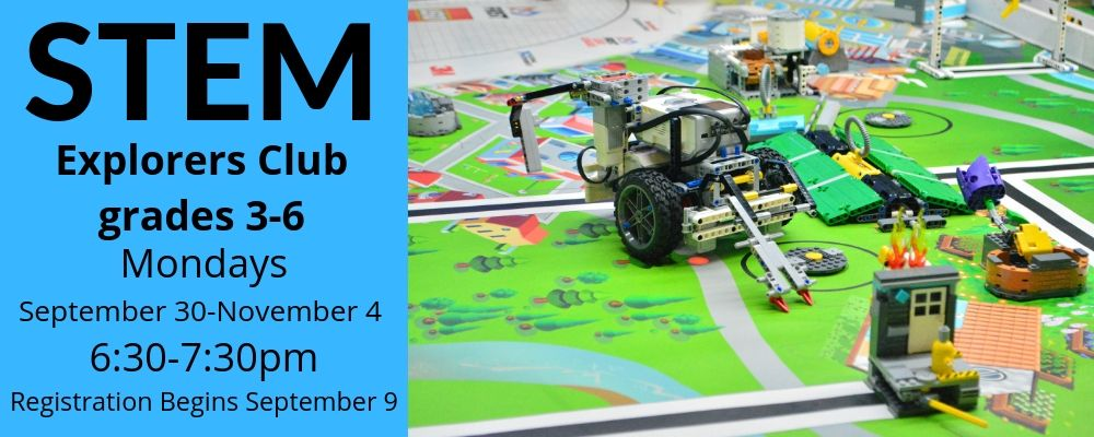 STEM Explorers Club (grades 3-6)