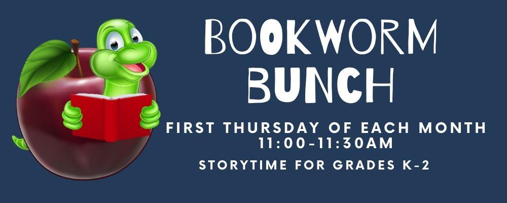 Bookworm Bunch (grades K-2)