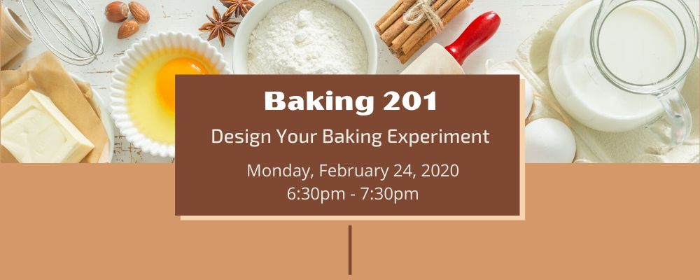 Baking 201: Design Your Baking Experiment with Mick Tambasco