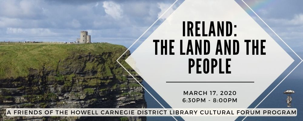 CANCELED: Ireland: The Land and the People with Bridget Gallagher's Irish Tours