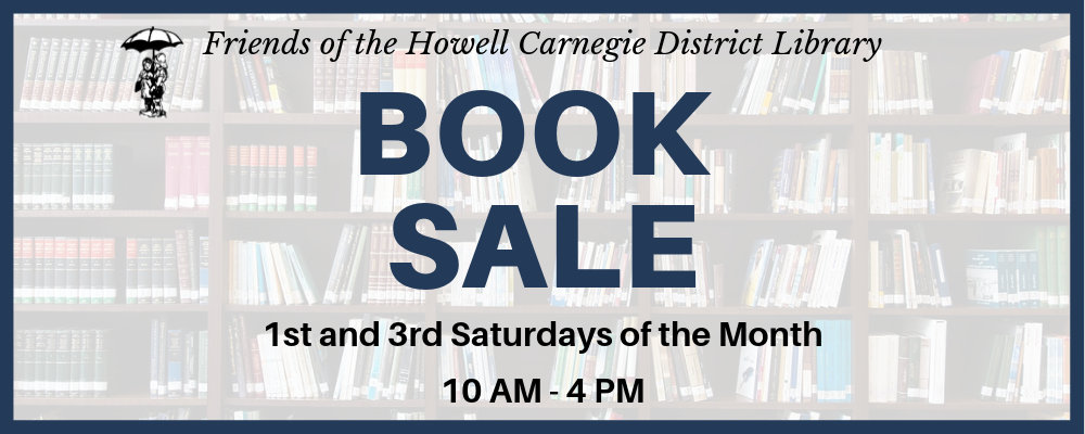 CANCELED: Friends of the Library Book Sale