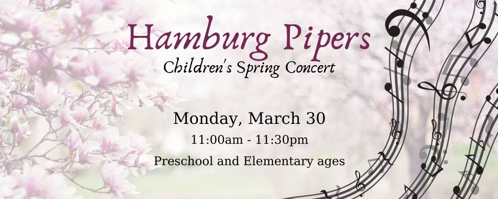 CANCELED: Hamburg Pipers Children's Spring Concert