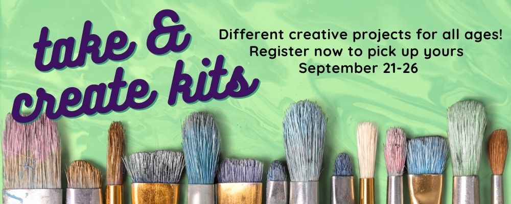 Take & Create (Adults): Happy Little Paint Along