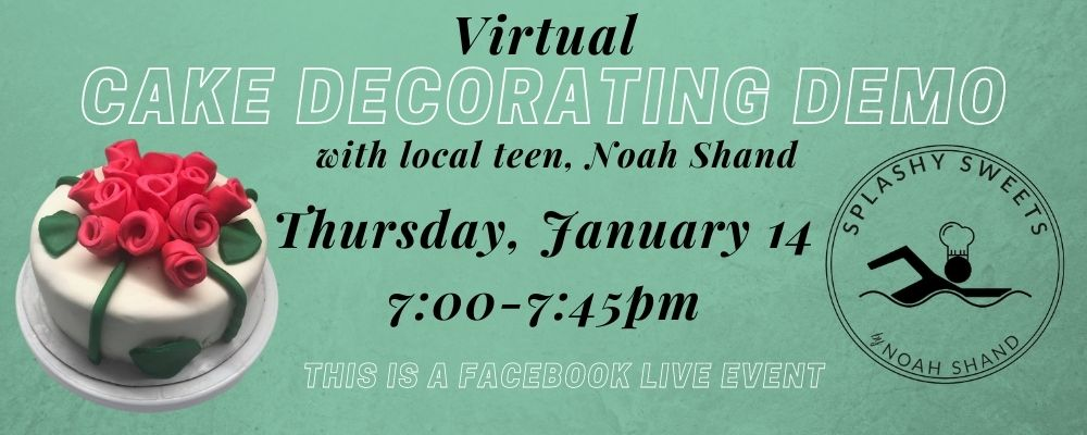 Cake Decorating Demonstration with Noah Shand