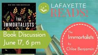 LafayetteREADS! - Discussion of The Immortalists